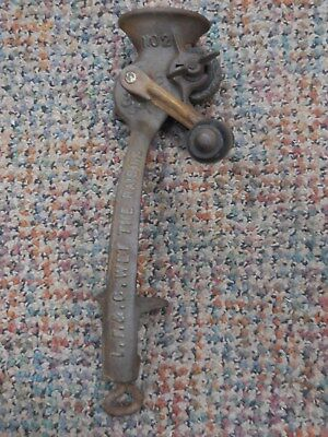 Antique Raisin Seeder Cast Iron The Crown No. 2  Pat. Nov. 24 1895-Original