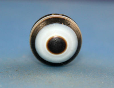 56*12 mm Antique  Dzi  Agate old 1  eyes Bead  from Tibet ***Free shipping***