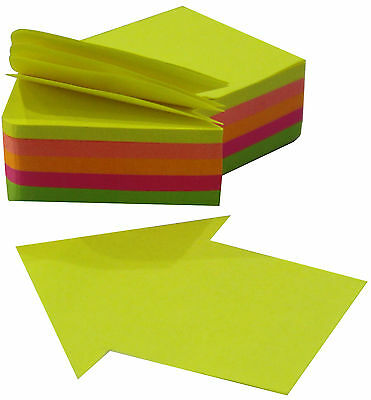 """4A Die-cut Sticky Notes-Arrow Shape-2.72""""x2.56""""-200 sheets/pad-Free Shipping NEW"""