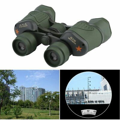 Day/Night 50x50 Military Army Zoom Powerful Binoculars Optics Hunting Camping NW