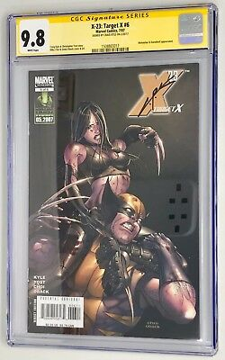 LOGAN Movie - Marvel X-23 Target X #6 CGC 9.8 - Signed & Sold by LAURA'S Creator