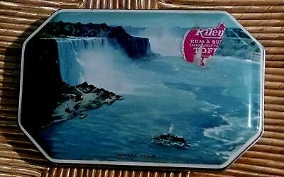 Toffee Tin Rileys England Vintage Riley Made  Advertising  Halifax Niagara Falls