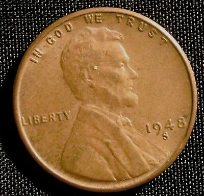 1948-S San Francisco Mint Lincoln Wheat Penny Cent