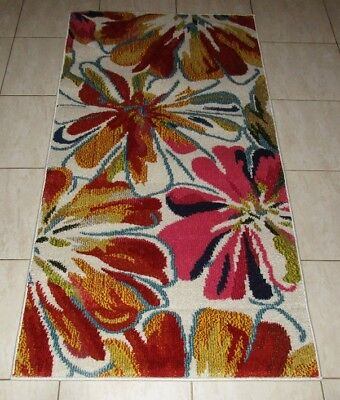 New Colourful Modern Heatset Floor Hallway Runner Rug 80X150Cm
