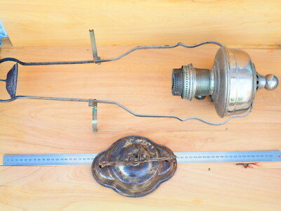 Vintage Old Large Size Wall Hanging Light Fixture Kero Lamp (H784)