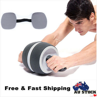 Fitness Ab Carver Exercise Wheel Roller Six Pack ABS Core Workout Gym AU