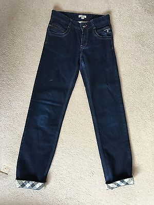 Boys Burberry jeans 14 years 164cm NEW