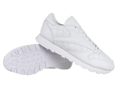 de764de8e4ace  Reebok Classic Leather Quilted Women s Sports Trainers Casual Sneakers  Shoes