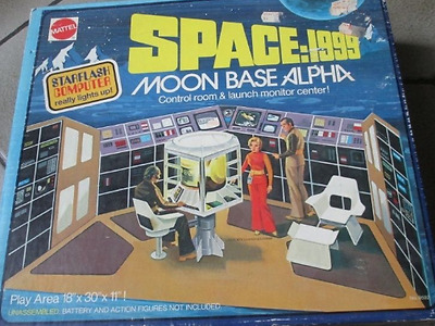 Space 1999 Mattel Spaoonbase Alpha **control Room** Sealed Never Open Nice Item