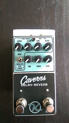 KEELEY CAVERNS DUAL REVERB und DELAY PEDAL