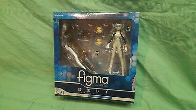 Max Factory Figma 091 Evangelion 2.0  Ayanami Rei PVC New in Box