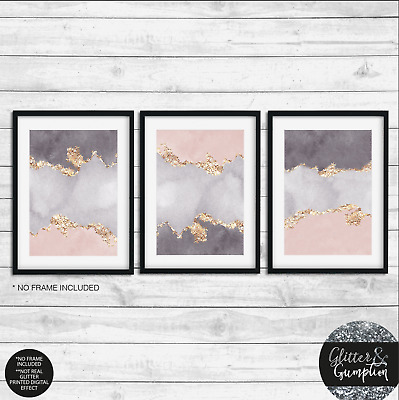 Fashion Art Silver  Logo Beauty Room Home Decor beauty salon Print NO GLITTER
