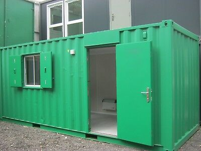 20ft converted shipping container, site office, cabin, Southampton, £4500+VAT