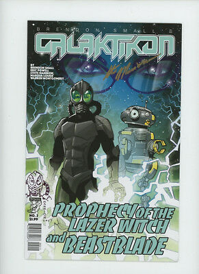 GALAKTIKON #2 Signed with SKETCH Steve Mannion DIRECT Fearless Dawn Eric Powell