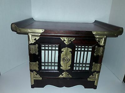 Wood Table Top  Chinese Altar Cabinet