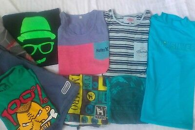 Boys sz 14 - 16 mixed lot summer clothes. Mambo,Quicksilver, Billabong, Hurley