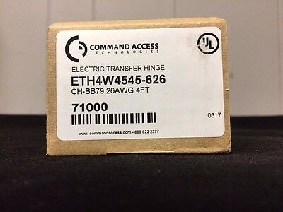 Command Access Electric Transfer Hinge (ETH4W4545-626)