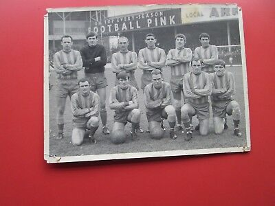 Canterbury City F.C.:  Photo of City team at Swindon for F.A.Cup Tie Nov. 1968