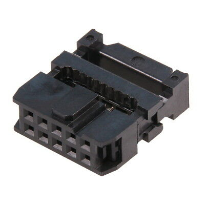 IDC 10-pin Mounting Socket for Connector Ribbon Flat Cable Female