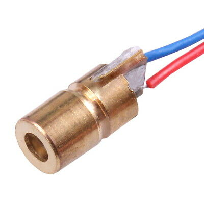 mini 650nm 6mm 3V 5mW Red Laser Dot Diode Module Head WL Color