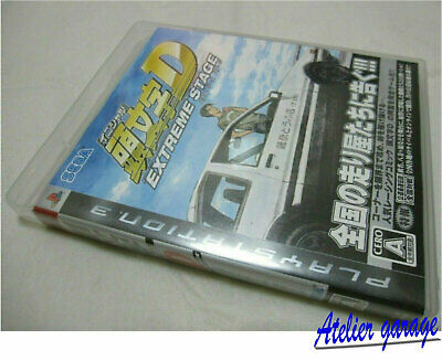 W/Tracking Number PS3 Initial D Extreme Stage Reversible Jacket Version Japanese