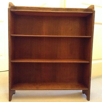 Solid Dark Oak Bookcase circa 1930