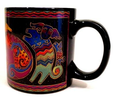 Laurel Burch Artistic Mug Collection Dogs & Doggies NEW in Box
