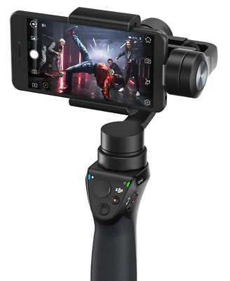 BRAND NEW DJI Osmo Mobile OM150 3-Axis Smartphone Gimbal Image Stabilizer Black