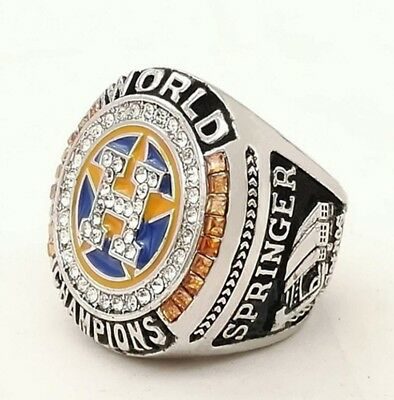 2017 Baseball Championship Ring Houston Astros Size8-14 for SPRINGER