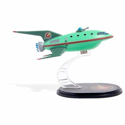 QMX Mini Masters Futurama Planet Express Spaceship Model - Loot Crate Exclusive