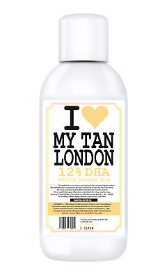 NEW Professional Spray Tanning Solution. Extra Large (1000ml) Tan, VANILLA