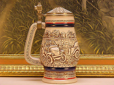Vintage Avon Car Classics Beer Stein 1979 Handcrafted in Brazil Classic Cars