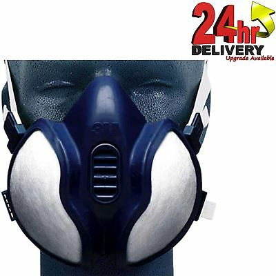 3M 06941 Spray Paint/Dust Mask/Cleaning Vapour & Particulate Reusable Respirator