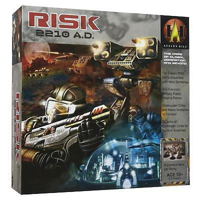 NEW Risk 2210 A.D. Board Game World at War Create Alliances Strategy 6T39za1