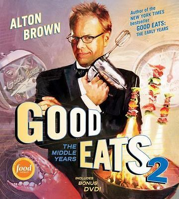 Good Eats 2 : The Middle Years by Alton Brown 2010, Hardcover with DVD