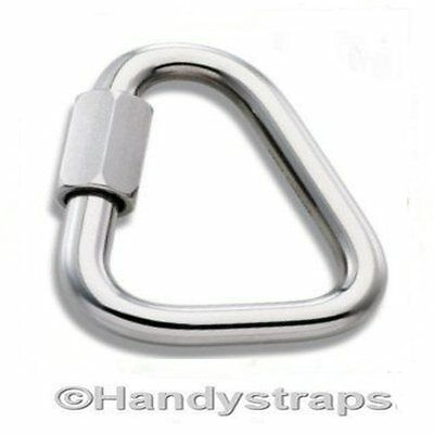 4mm Delta Triangle Quick Repair Link  Marine Stainless Steel