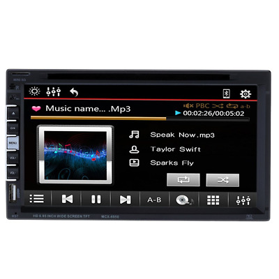KKmoon Head Unit Double Din Car Radio Stereo 2 Din Car Stereo DVD Player In dash