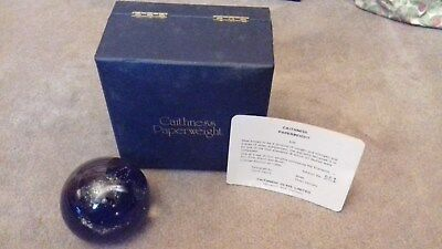 Caithness Glass Paperweight Limited Edition 'Air''Boxed Collectible 1975