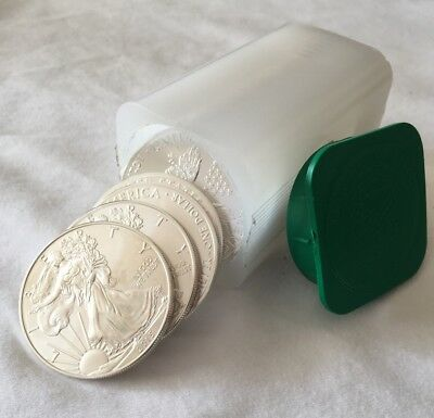 2015 1 oz Silver American Eagle Coins (Lot, Roll, Tube of 20)