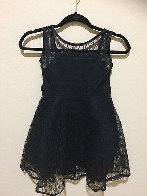Black Lace Audrey Sweetheart Dress - Toddler & Girls, Size 6 NWT