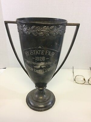 Ky State Fair 1928 Best Three Horse Delivery Outfit Trophy
