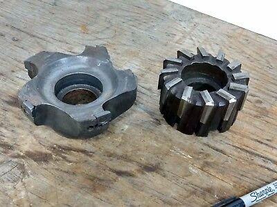 CK Tool   Face Mill Cutter Head w/ blades Machinist Milling Tool Shell