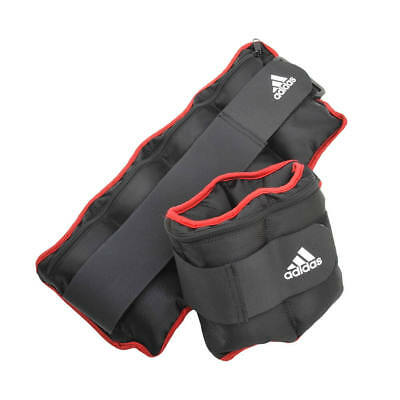 Adidas Adjustable Ankle Wrist Weights Running Straps Gym Strength Training