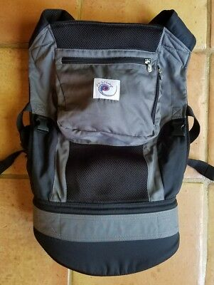 Ergo Baby Ergobaby Performance Carrier Sling Grey Mesh with Hood