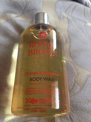 Molton Brown Orange & Bergamot Bath & Shower Gel - 300ml - NEW