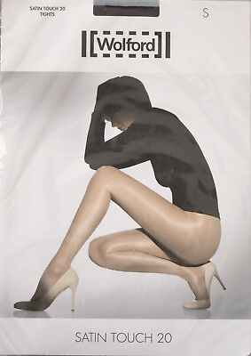 NEUF @@ COLLANT BRILLANT TRANSPARENT CAVIAR + WOLFORD Satin Touch 20 +  S