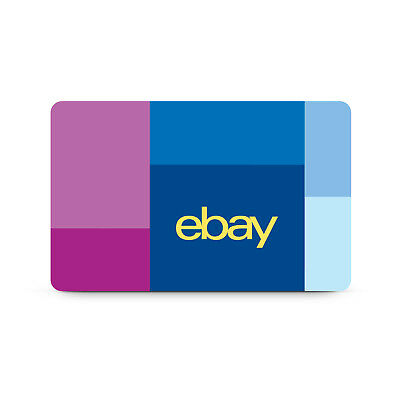 $25 / $50 / $100 eBay Gift Card - FREE Mail Delivery