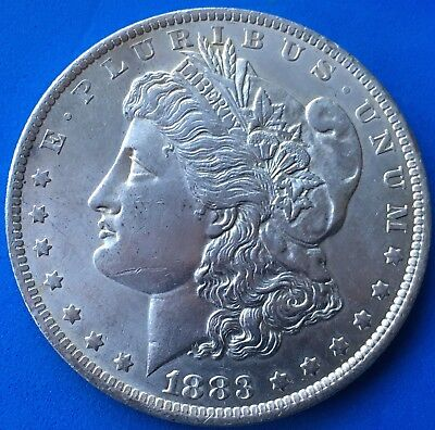 USA Morgan Dollar 1883 O New Orleans vz Silber