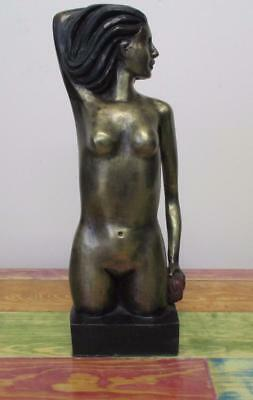 Leo Mol ¨woman Bronze Sculpture Signed And Numbered