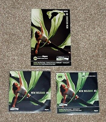 Les Mills Body Balance 45 CD & DVD with choreography notes